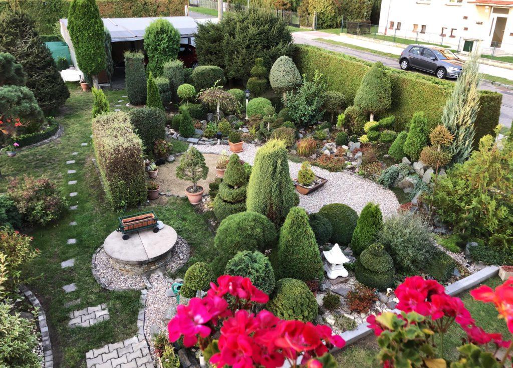 20 летний сад в Чехии
