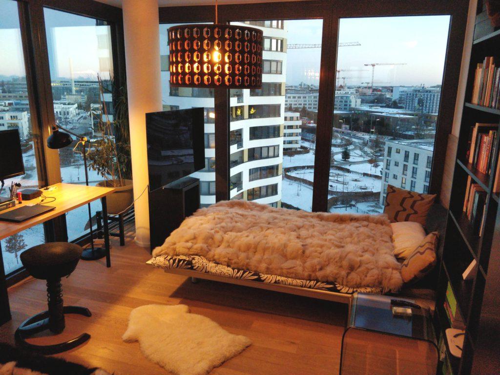 Спальня в германии.