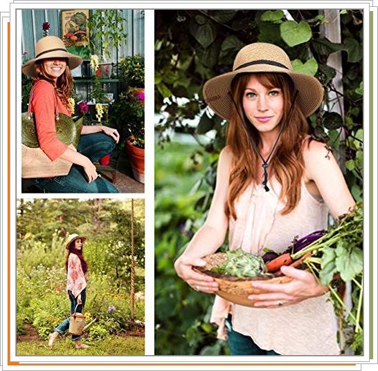 Шляпы и аксессуары для огорода в подарок